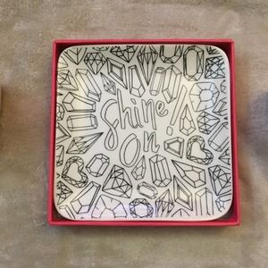 Color Joy Color Your Own Trinket Tray Shine On